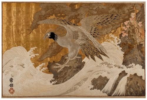 Textile sea eagle