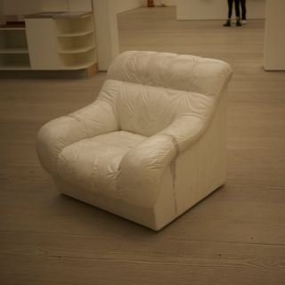 ai weiwei sofa in white