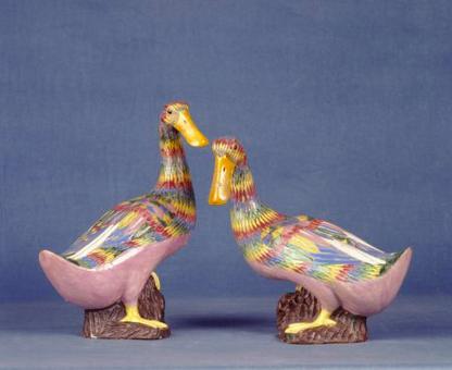 chinese porcelain ducks v4