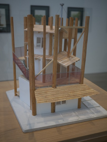 toyo ito home for all scale model